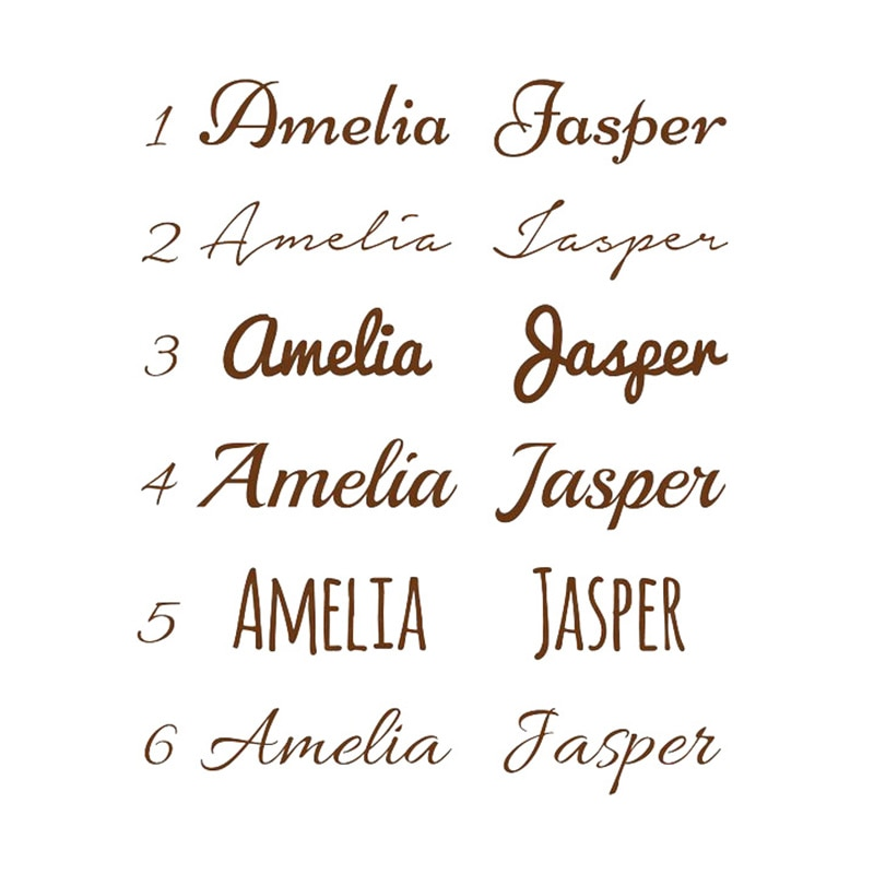 Personalized Kids Name Vinyl Wall Sticker Custom Name Decor Nursery Bedroom Decals Removable Art Mural For Baby Living Room N001 Alley Corner Nordic Wall Decor Home Decor